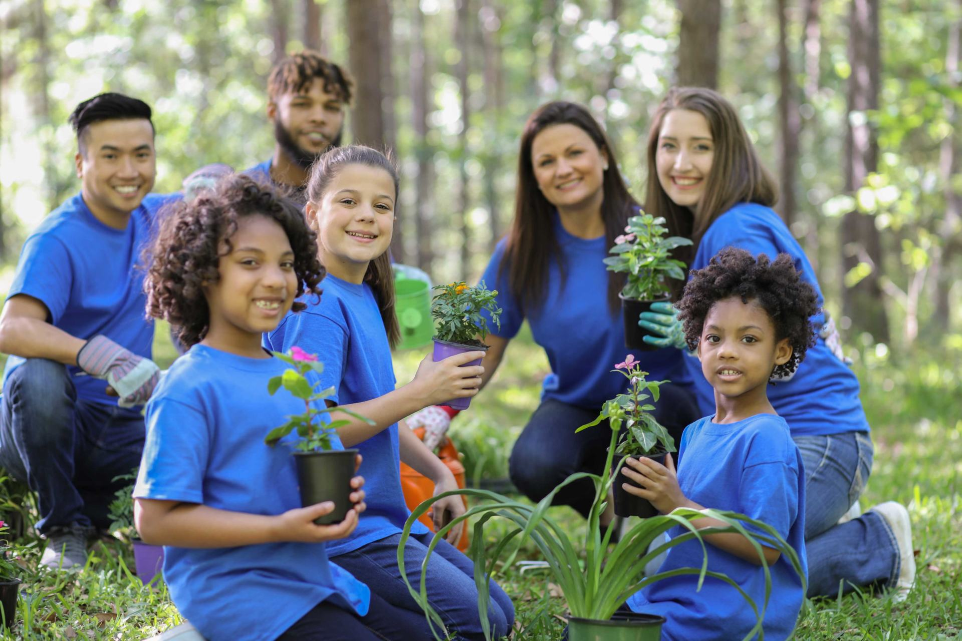 Children and Nonprofit Gardening